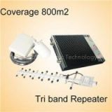 2G 3G 4G 900 1800 2600MHz Tri Band Mobile Signal Booster