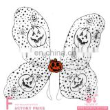 Party supplier halloween costume wing pumpkin pattern wings for kids