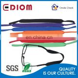 New arrival wholesale fashionable reusable elastic colorful custom sunglass croakies