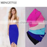 wholesale latest design fashion bandage lady skirts , sexy dress pencil skirt for women