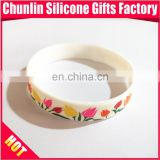 CMYK printing silicone wristbands