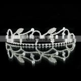 Crystal rhinestone wedding tiara bridal crown headband pience TR234