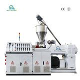 HSJZ-80/156 Granulation Conical Twin Screw Extruder