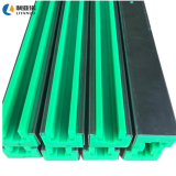 HDPE material self-lubrication guide rail customized plastic guide rail