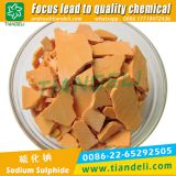 sodium sulfide sodium hydrosulfide yellow/red flakes 60%min