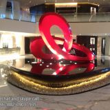 Modern Art Stainless Steel Metal Sculpture Copper Plate / Iron Plate Stainless Steel Ant Sculpture