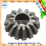 Changzhou Machinery tractor used Crown Pinion Gears Ring gear for paper shredder & rotavator Gear Ring