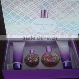 original luxury perfume gift set for women with body lotion