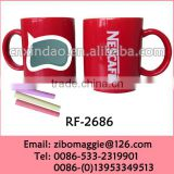 Wholesale Professional Alibaba Express Porcelain Nescafe Chalk Mug for Travel Coffee Mug