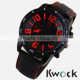 Men's Women Sport Watch Big Dial Analog Silicone Strap Quartz Wristwatch Sport Silicone Rubber Watches
