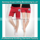 2015 OEM new design 100% cotton women sexy booty shorts lovers set pants China suppier
