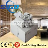 SG-002-X automatic card cutter machine for sale a3 bussiness card cutter
