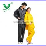 pvc rain suit, fashion rainwear,outdoor sport rain jacket raincoat                                                                         Quality Choice