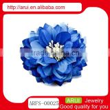 Chinese hair clip factory Spainsh blue rose hair accessories wholesale