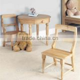 RCH-4154 High Quality Eco-friendly Baby Wooden Dining Chair                                                                         Quality Choice
