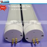 High power 60cm 8w T5 electronic ballast compatible led tube 680 lumen CRI 80 Ra80 PF>95% can replace t5 fluorescent lamp
