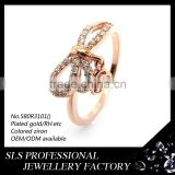 king and queen engagement and wedding ring 14k rose gold 925 sterling silver ring jewelry