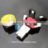 professional custom made soft pvc guitar flash drive cartoon usb drive