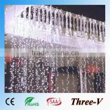 3m x 3m with 400 leds LED Curtain Light / Decoration / Christmas / Fairy / Festival / Novelty Light Lamp Bulb String Strips                                                                         Quality Choice