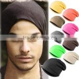 Colorful beautiful cotton sort excellent material bandhnu boy knitted hip hop beanie hats