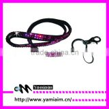 2015 Custom lanyards bling crystal neck lanyards