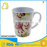 the best choose of travel small melamine plastic coffee mug