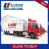 Canton fair is recommended used bulk powder cement tanker semi trailer