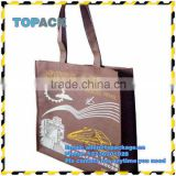 Hot selling Reusable pp non woven shopping bag/custom made printed beach tote bag/printied shopping bag