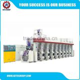 PVC Shrink Film automatic rotogravure printing machine,8 color rotogravure printing machine                                                                         Quality Choice