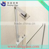 High quality clear tinted tempered glass shower panels,aluminum profile for glass shower doors