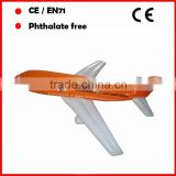 PVC inflatable airplane toys for promotion big size EN71and ASTM