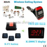 Long Range Distance CE Passed Wireless Buzzer Bell Restaurant Supplies Wireless Pager Table Call Bell System