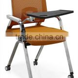 Fashionable training folding chair with writing board