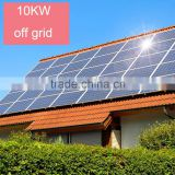 High efficiency and Good Quality 10KW 96V Solar Power off grid Systems For Home Use                                                                         Quality Choice