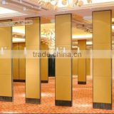 aluminium movable partition wall and folding door partition acoustic folding partition for library, museum