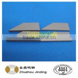 zhuzhou jinding manufacturer cemented tungsten carbide blade for agriculture tillage tool