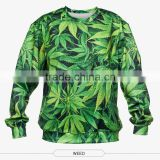 New design round neck pullover, custom 3D sublimation american sweatshirt
