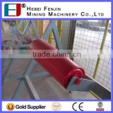 Industrial Machinery Parts Steel Tube Troughing Idler For Sand Making Plant