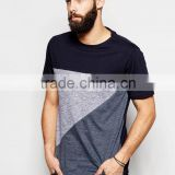 Cut and Sew Regular Fit T-Shirt 91% Cotton, 9% Polyester Top 10 XXXL China T Shirt Factory