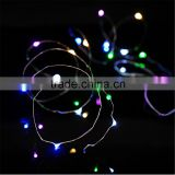 4M 13FT 40led 3 AA Battery Powered Decoration LED Copper Wire Fairy String Lights Lamps for Christmas Holiday Wedding Party