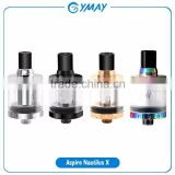 In stock!Original Aspire Nautilus X Tank with U-Tech coil system Black Silver rainbow Aspire Nautilus X