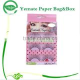 Paper Box Manufacturer! PVC and cardboard custom eyelash blister packaging box
