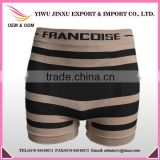 New Fashion Striped Briefs Men Boxers and Underwear