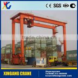 Crane Lift Containers Double Beam Gantry Crane 40 Ton In Shipyard