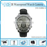 Full HD Mini Hidden Camcorder Camera Watch DVR with1080P PC Webcam Waterproof IR Night Vision Function JVE3105G-2