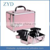 Wholesale Aluminum Makeup Cosmetic Train Case Best Quality Aluminum Case Factory In China ZYD-HZ110603