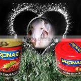 Pronas Beef Sausage and Corned Beef
