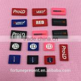 Customize cheap price soft pvc clothing brand labels/wholesale clothing lable/plastic label china supplier