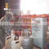 LPG gas cylinder shot blasting machine, CNG Gas Steel Cylinder Shot Blasting Cleaning Machine