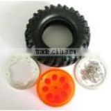 "4031H-7032 Rock Crawler 1.9"" RC Car 1/10 Beadlock Wheel Rim & 108mm rc car Tyre Tires"
